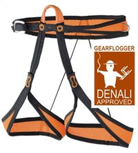 GearFlogger reviews the CAMP Alp 95 harness