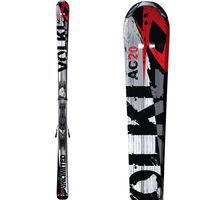 GearFlogger reviews the Volkl Unlimited AC20 skis and Marker 11.0 TC bindings