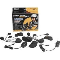 GearFlogger reviews the Cardo Systems Scala Rider MultiSet Q2 helmet headset