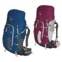 GearFlogger reviews the Sierra Designs Revival 65 men's and Jubilee 50 women's packs