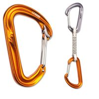 GearFlogger reviews the Black Diamond HoodWire carabiner and quickdraw