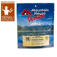 GearFlogger reviews Mountain House Chicken Salad Wraps