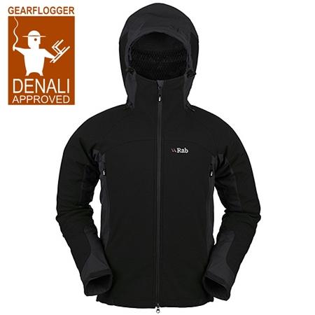 GearFlogger reviews the Rab Baltoro Guide soft shell jacket