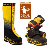 GearFlogger reviews the La Sportiva Olympus Mons EVO boot