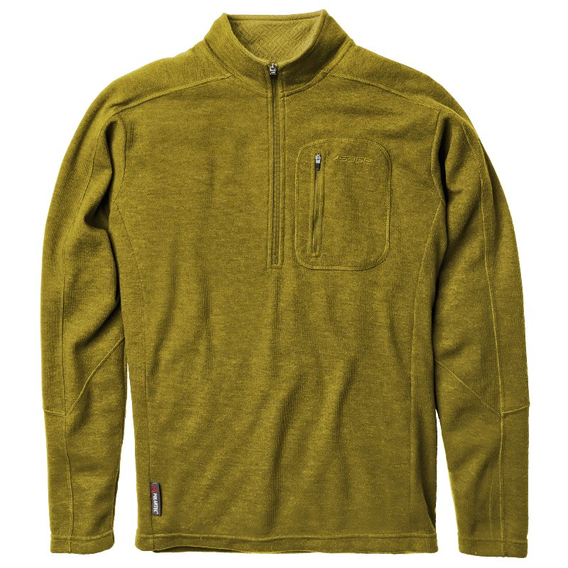 GearFlogger reviews the Sage Kanektok half-zip shirt