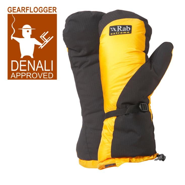 GearFlogger reviews the Rab Expedition Mittens