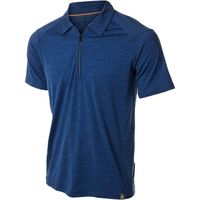Gearflogger reviews the Smartwool Teller zip polo shirt