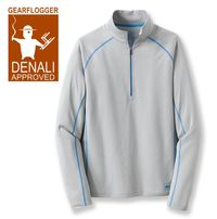 GearFlogger reviews the REI Lightweight Polartec Power Dry Half-Zip Top