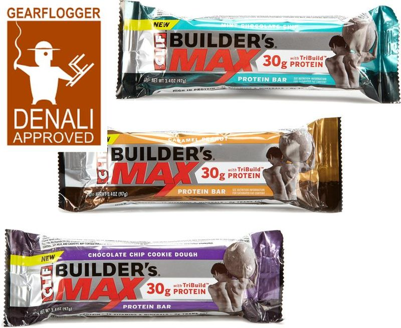 Gearflogger reviews the Clif Builder's Max protein bars