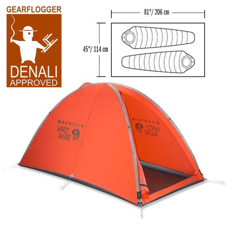 Gearflogger reviews the Mountain Hardwear Direkt 2 tent