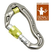 Gearflogger reviews the DMM Revolver Screwgate Pulley Carabiner