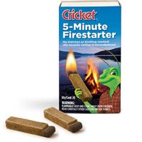 Gearflogger reviews the Cricket 5-Minute Firestarter