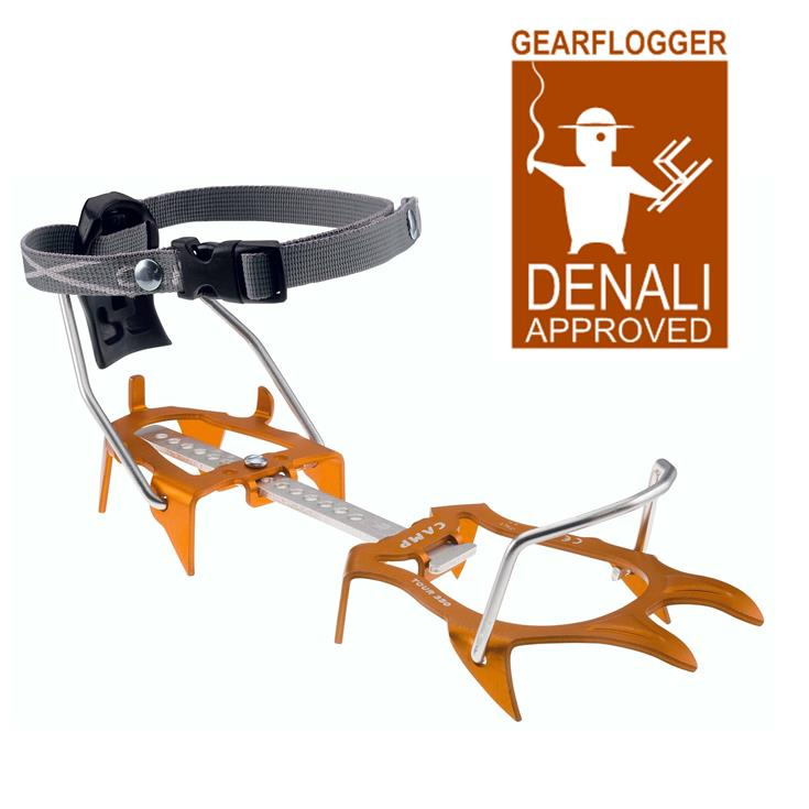 Gearflogger reviews the CAMP Tour 350 crampons