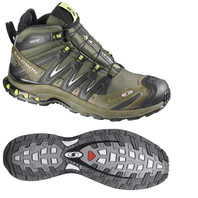 sélection premium 9e5da 89978 Gearflogger reviews Salomon XA Pro 3D Mid LTR GTX shoes