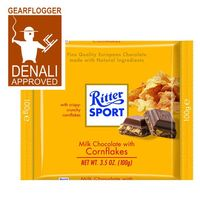 Gearflogger reviews Ritter Sport Milk Chocolate with Cornflakes