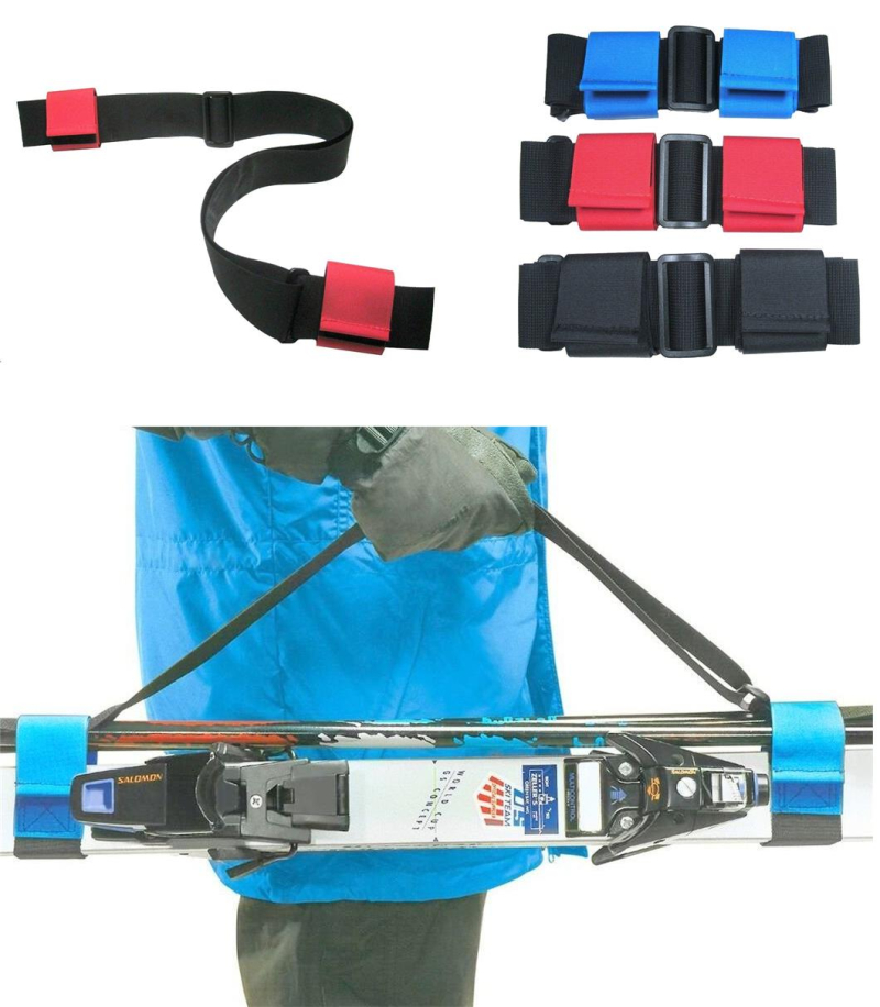 Gearflogger reviews the Bowtie ski and pole carrier