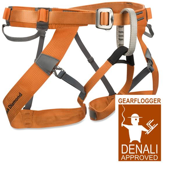 Gearflogger reviews the Black Diamond Couloir harness