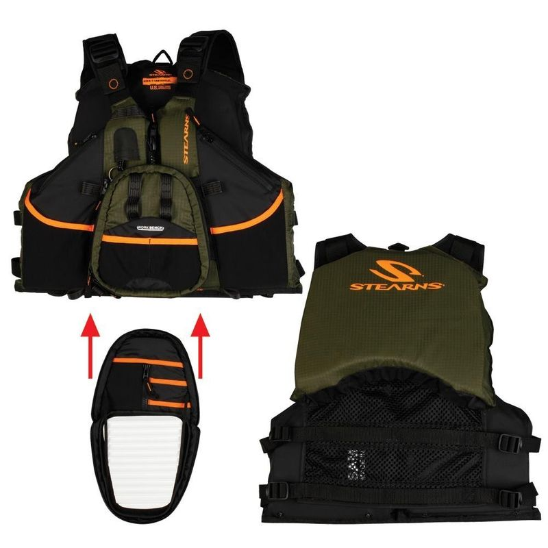 Gearflogger reviews the Stearns Hybrid Fishing and Paddling Vest