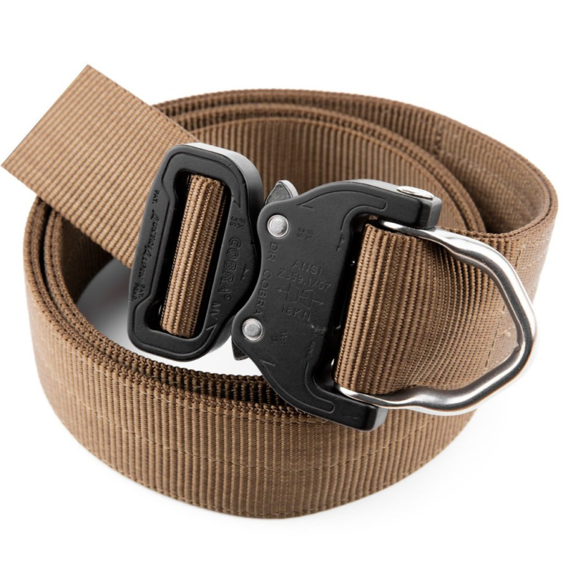 Gearflogger reviews the Klik Belts D-Ring rescue belt