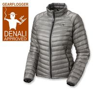 Gearflogger reviews the Mountain Hardwear Ghost Whisperer women's down jacket