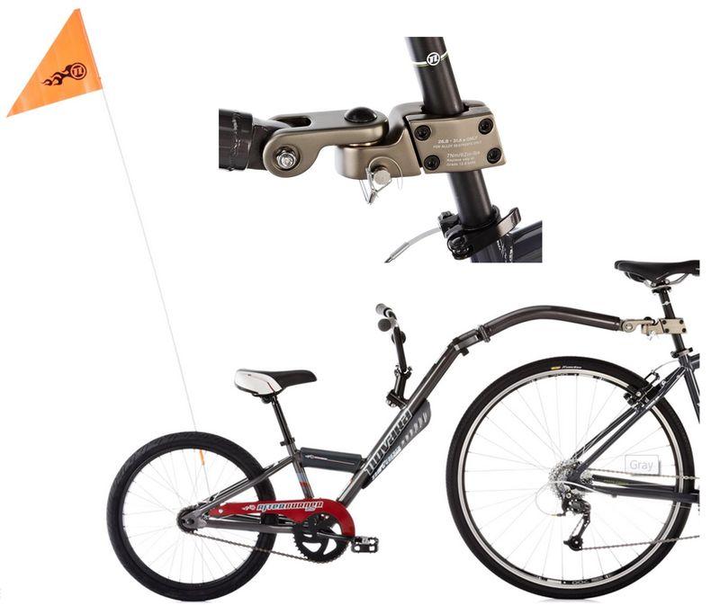 Gearflogger reviews the Novara Afterburner 2 kid's bike trailer