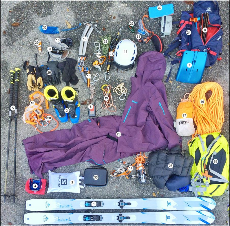 Gearflogger recommends Petzl ski mountaineering expert advice