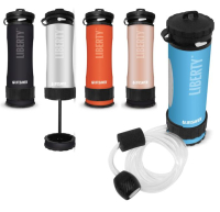 Gearflogger reviews the Icon Liberty water filter bottle