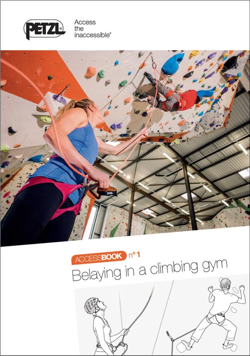 Gearflogger reviews Belaying in a Climbing Gym  an e-book from Petzl