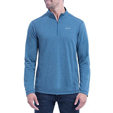 Gearflogger reviews the Orvis Sandy Point quarter-zip pullover