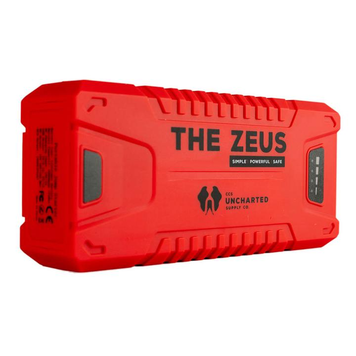 Gearflogger reviews the Zeus portable jump starter