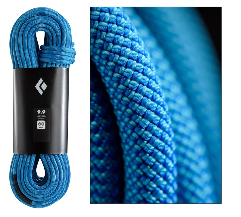 Gearflogger reviews the Black Diamond 9.9 Single Rope