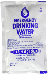 Gearflogger reviews the Datrex emergency water packet