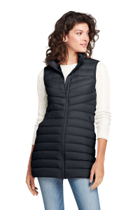 Gearflogger reviews the Lands End Ultralight Long Down Vest