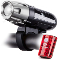 Gearflogger reviews the CycleTorch 550R rechargeable bike light