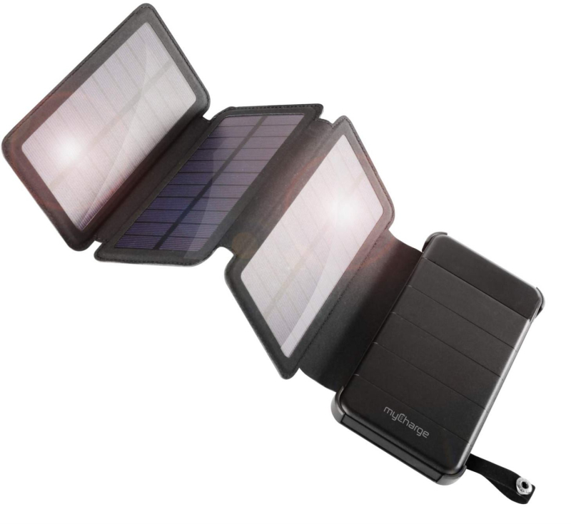 Gearflogger reviews the myCharge PowerFold 8000 solar charger