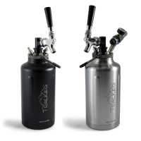 Gearflogger reviews the TrailKeg Half Gallon insulated growler and tap