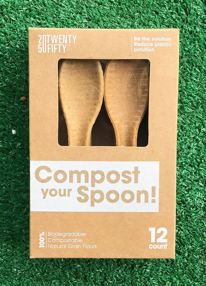 Gearflogger reviews the TwentyFifty compostable spoon