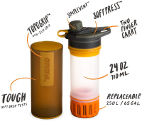 Gearflogger reviews the Grayl Geopress water purifier