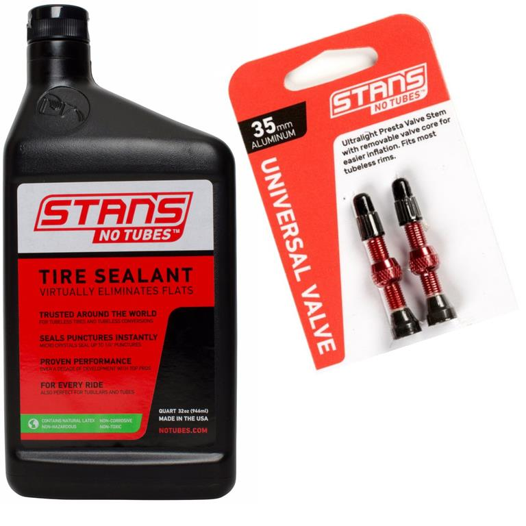 Gearflogger reviews  going tubeless with Stan's NoTubes