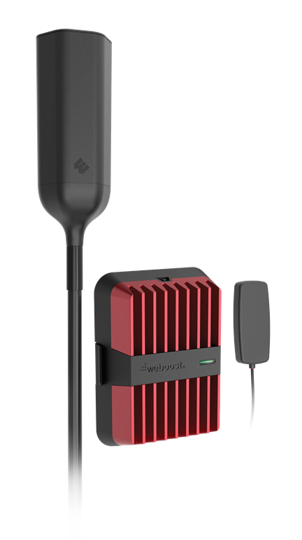 Gearflogger reviews the weBoost Drive Reach OTR signal booster for trucks