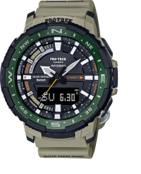 Gearflogger reviews the Casio Pro Trek PRT-B70 fishing watch