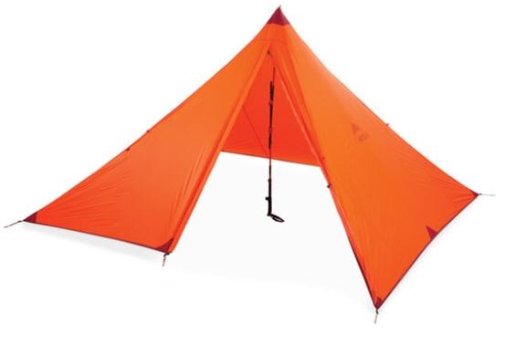 Gearflogger reviews the MSR Front Range tarp shelter