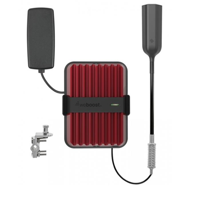 Gearflogger reviews the weBoost Drive Reach OTR cell signal booster for trucks