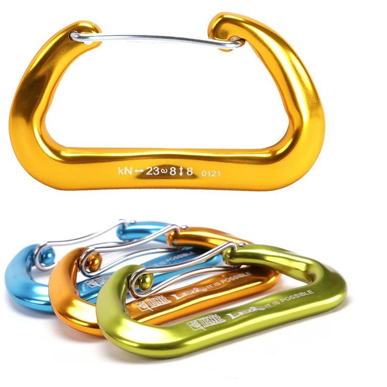 Gearflogger reviews the RNR Lava Infinity Wiregate Carabiner