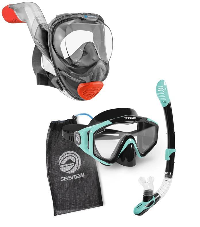 Gearflogger reviews the Seaview 180 and Kradan snorkel sets
